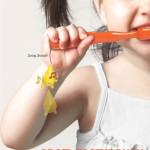 Sem briga na hora de escovar os dentes