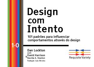 Cartão de título do kit de ferramentas Design com Intento
